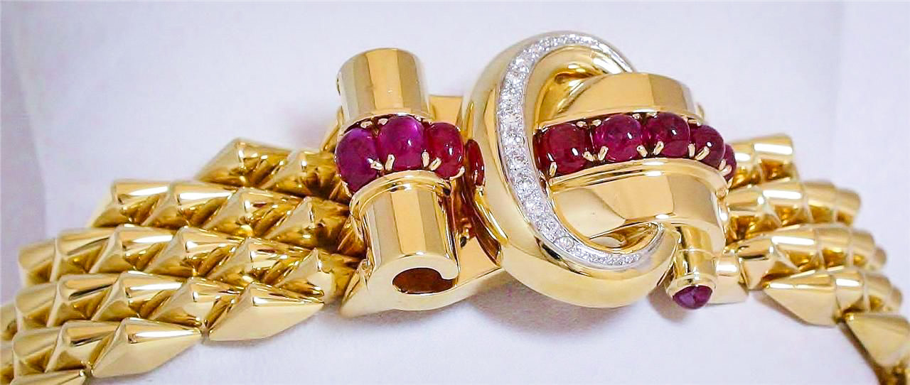 Retro Gold Designer Jewelry