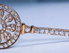 Tiffany Key Pendant