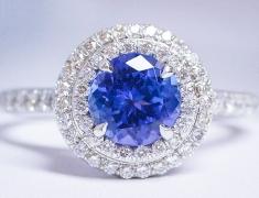 Tiffany Tanzanite Ring
